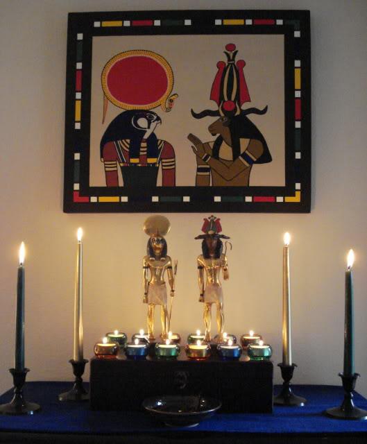 Festival Shrines | Kemet org